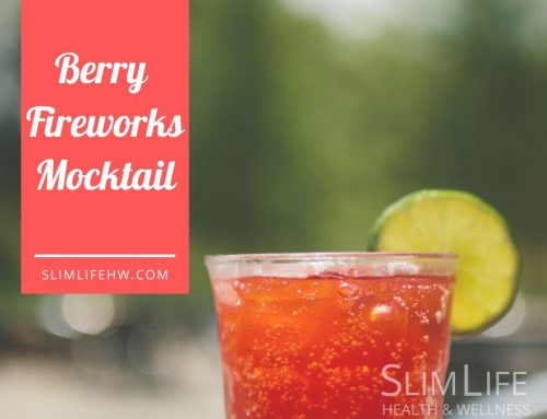 Mocktail: Berry Fireworks
